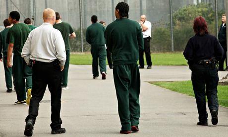 A young offenders' unit. Photograph: Graeme Robertson