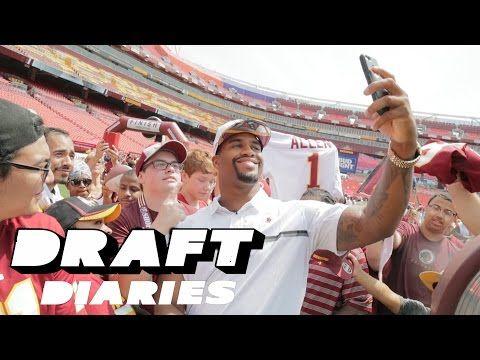 Jonathan Allen 2017 NFL Draft Journey All-Access   Washington Redskins   NFL - YouTube