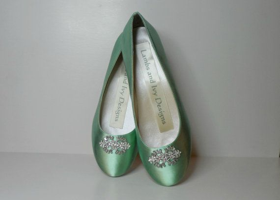 Ballet Flats, Wedding Flats, Bridal Ballet Slippers, Ballet Slippers With Rhinestones Reserved