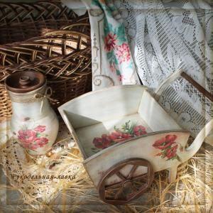 изделия ручной работы, подарок ручной работы, предмет декора интерьера, декупаж, деревянные изделия, искусственное старение, кантри, прова