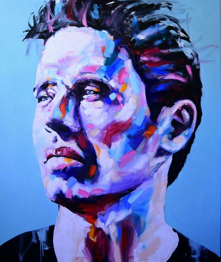 Jerson Jimenez, 2017, Oil on Canvas, 175x150 cm.