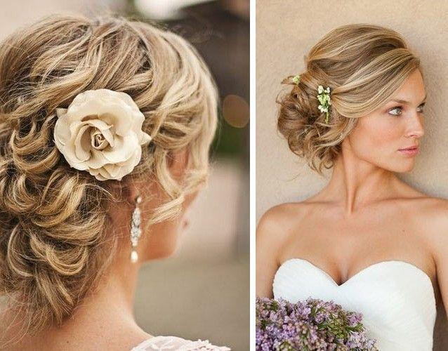 Coiffures Mariage Cheveux Mi Longs