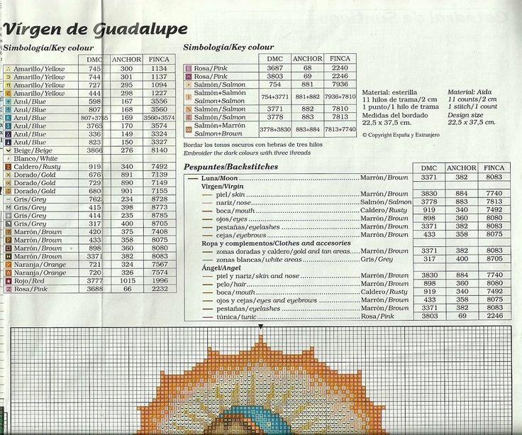 Patrones punto de cruz en pdf (pág. 3096) | Aprender manualidades es facilisimo.com