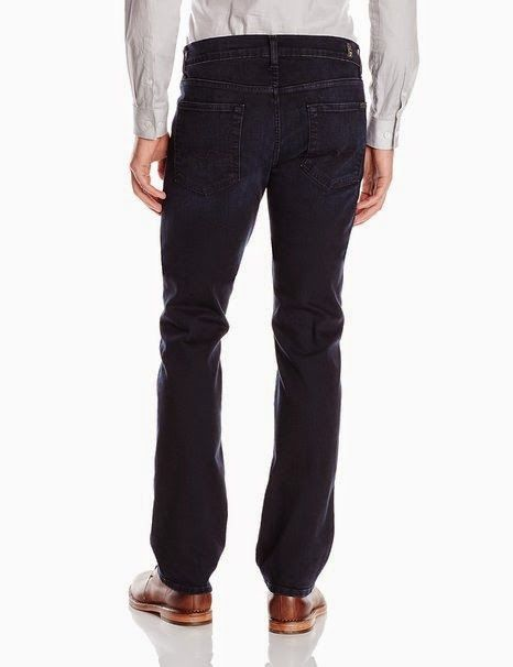 7 For All Mankind Men's Slimy Slim Straight-Leg Jean In Atlantic Deep - Store Online for Your Live and Style