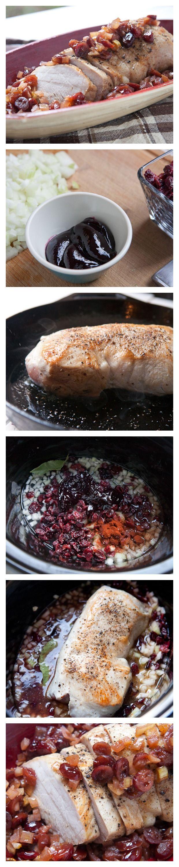 Slow-Cooker Cranberry Pork Roast | Recipe | Sauces, Spicy ...