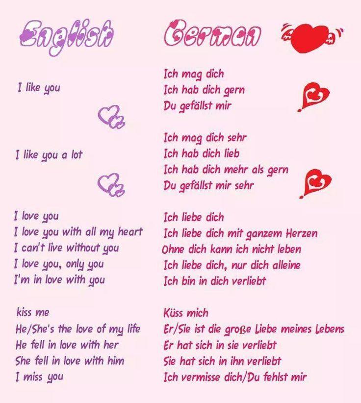 Love - Liebe #German #Deutsch