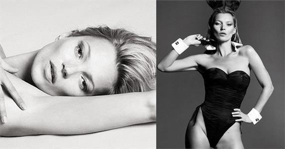 Haberin Ola! | Kate Moss Playboy'a Soyundu! - Kate Moss, dünyaca ünlü erkek dergisi Playboy'a 60'ıncı yıldönümü için poz verdi.
