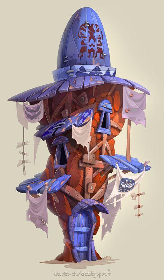 Rock House, Charlène Le Scanff (AKA Catell-Ruz) on ArtStation at https://www.artstation.com/artwork/rock-house-e6255e0d-c216-42d3-9e27-11e7c392c1ce