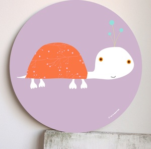 Cute for applique - Image of Cuadro infantil Turtus-wall art