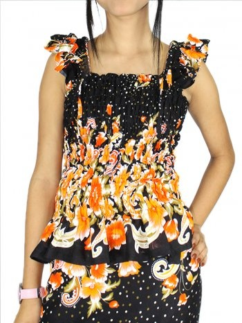 WRAPEE ORANGE [FF0207-10002] - Rs 899.00 : FEEROL FASHIONS, The Fashion Collection
