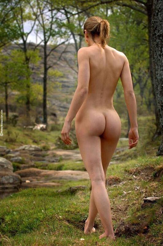 Natural naked women ass #2