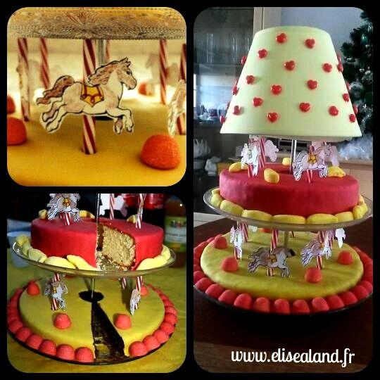 Le gâteau Manège de chevaux : ma première commande! Ce gâteau a été réalisé pour le goûter de Noël des jeunes cavaliers du centre équestre [...]