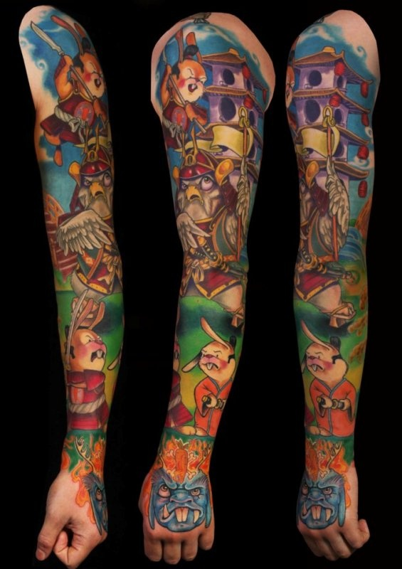 Sleeve Tattoo Artist: 107 Best Images About Pop Art Tattoos On Pinterest