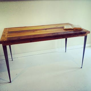 This #modern #industrial #rustic Desk Was A Pretty Simple, Inexpensive  Project.