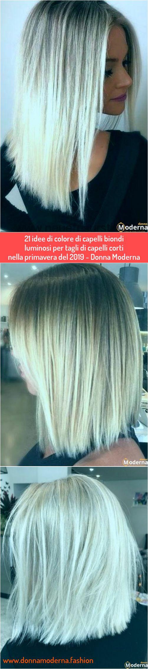 21 idee di colore di capelli biondi luminosi per tagli di ...