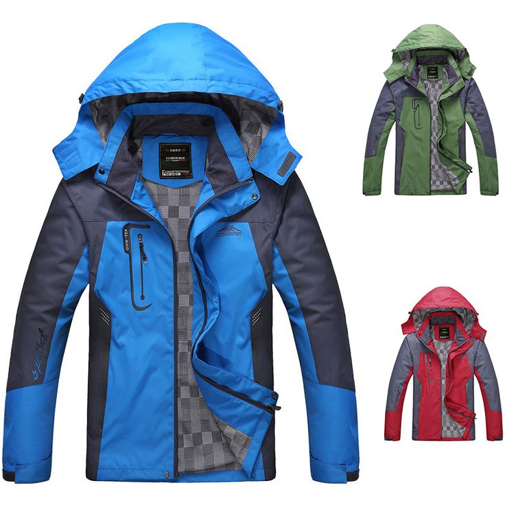 FREE SHIPPING ON ALL ORDERD!  Super Outdoor Waterproof Windproof Hooded Jacket Of Men  www.JDKhealthandfitness.com