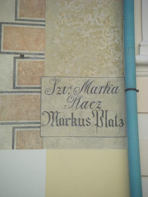 détail de rue à Zagreb: Photo