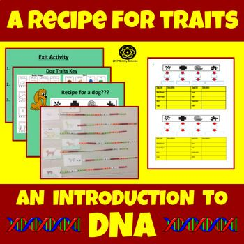 A Recipe for Traits - DNA Genetics Heredity Recipe for Dogs