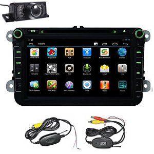 GPS Navigation Android 4.4.4 Lecteur DVD de voiture pour VW Volkswagen Passat B6 / B7 / Passat CC / Polo / Golf / Caddy / Touran / Skoda /…