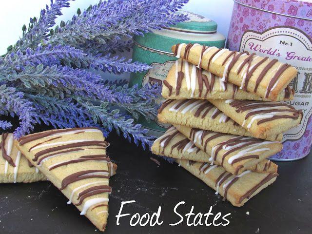 Μπισκοτακια βανιλιας με 2 σοκολατες - Food States