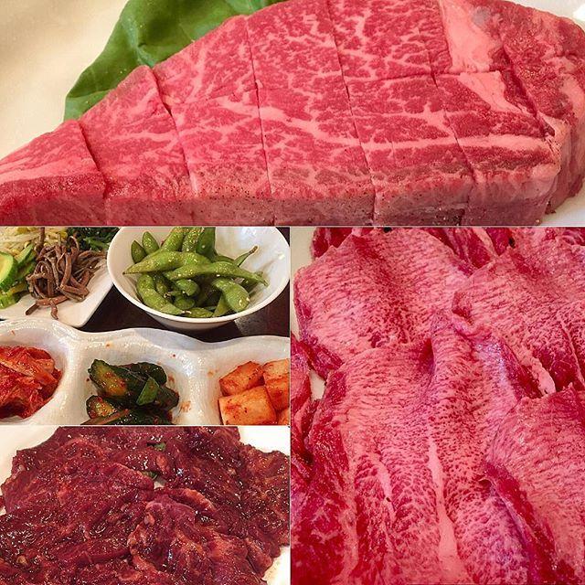 お肉@大阪17.6.2017  #肉#焼肉#牛肉#タン#ヒレ#シャトーブリアン#ハラミ#美味しい#グルメ#疲労回復#栄養#赤身#夕食#日本#大阪#天満#ごちそうさまでした#meat#carne#meal#dinner#yakiniku#delicious#gourmet#nice#beef#restaurant#japan#osaka