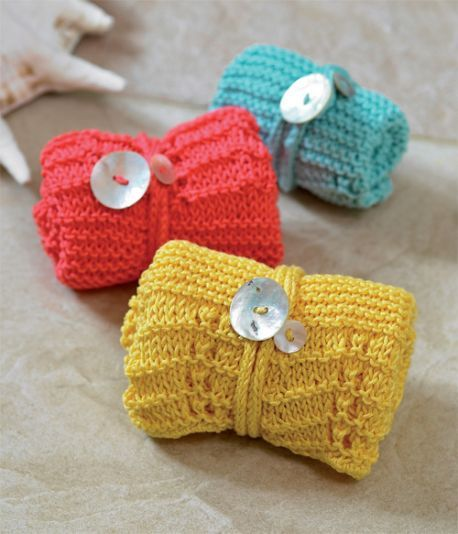 Easy Knitted Washcloths | Knitted washcloth patterns ...