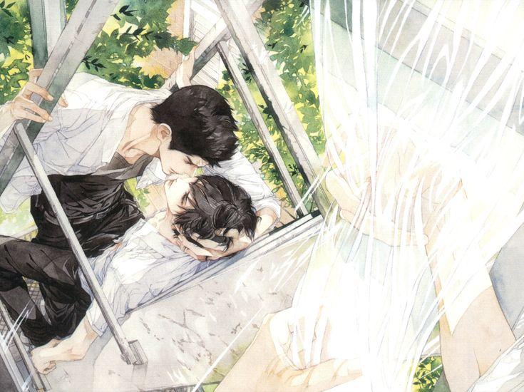 by Ayumi Kasai - Reijin Hyper Boy's Magazine September 2012 #manga #yaoi