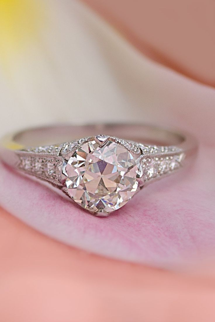 35 best Engagement Rings images on Pinterest | Diamond engagement ...