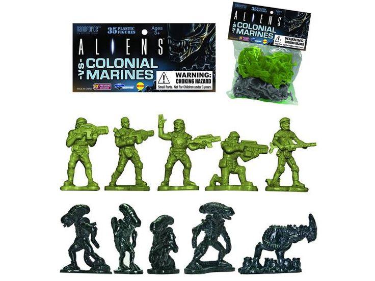 Aliens Vs. Colonial Marines Army Builder - Bag of 35 - Alien Figures