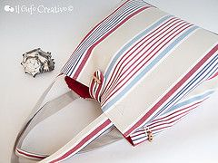 Striped multi bag 2 - Il Gufo Creativo | Flickr - Photo Sharing!