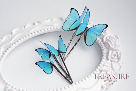 Handmade fabric butterfly  Materials: silk, metal  Prices for one pin.