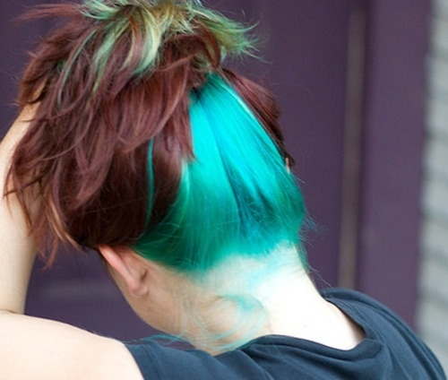 1666 best Blue Hair images on Pinterest | Colourful hair, Braids and ...