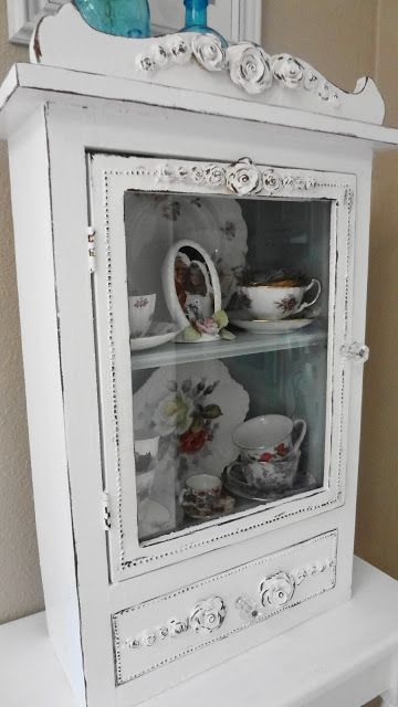 For the love of white: Painting Furniture Tutorial ~ sand/scuff, prime, fill, paint (paint w/ plaster paris & water), wax.