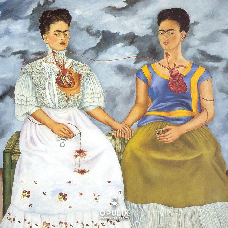Nació el 6 de Julio de 1907 y hoy se cumplen 62 años de su muerte, se llama Frida Kahlo.