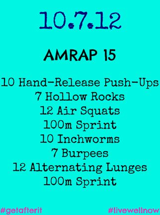 Travel WOD, AMRAP 15, #CrossFit #GetAfterIt #GNCLiveWellNow #Fitfluential