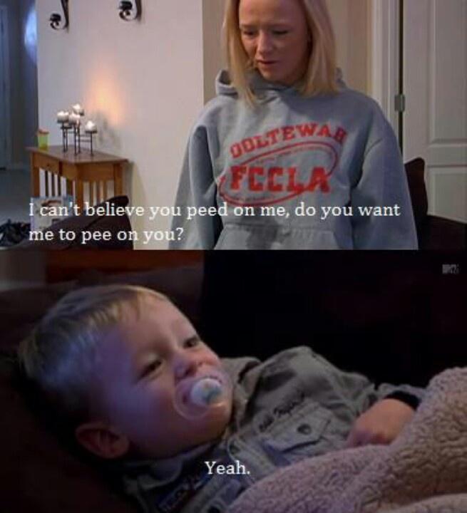 Im teen mom haha — 7