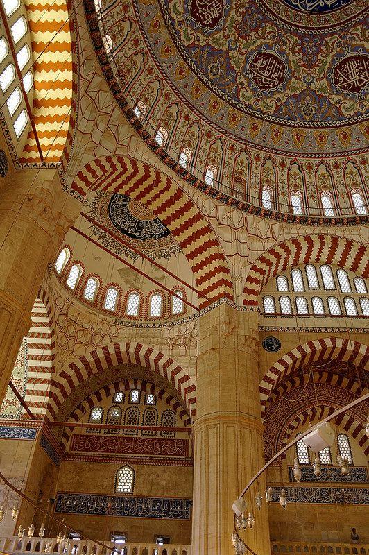 selimiye mosque, edirne, turkey | ottoman period islamic architecture