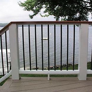 Deck Railing idea
