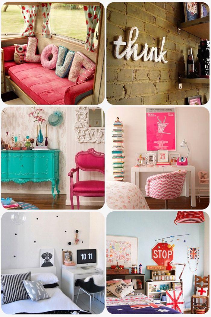 Ideias de decoração para quarto no blog Depois dos Quinze
