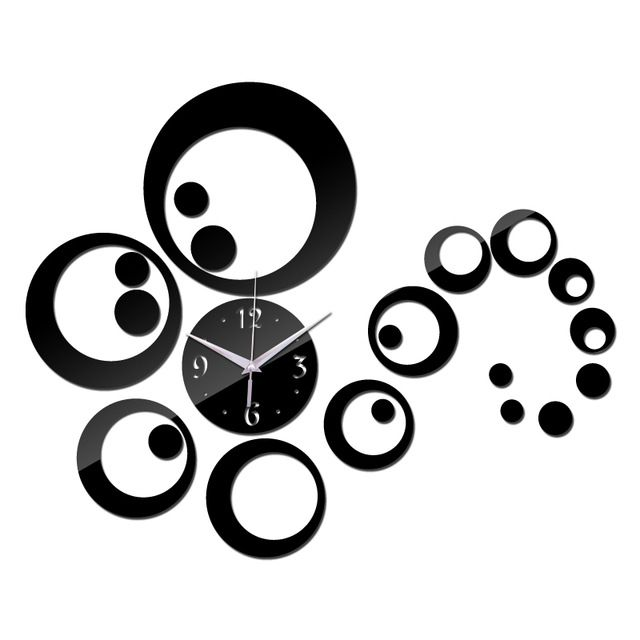 Check it on our site 2015 big Acrylic wall clock modern design Multi-piece set home decor watch Living Room limited time-limited free shipping just only $6.66 - 7.02 with free shipping worldwide  #clocks Plese click on picture to see our special price for you