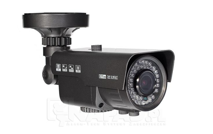Niezawodna kamera przemysłowa AT VI600E z oświetlaczem podczerwieni i menu OSD. Przetwornik 1/3 SONY Effio 650/700TVL Regulowany obiektyw 2.8-12mm Funkcje: ATW AWB BLC AGC AES ATR NR HLC. Kamera kolorowa VI600E z Effio to wysokiej klasy urządzenie do przechwytywania obrazu zarówno w dzień i w nocy. Mocny oświetlacz IR 42 diod LED zapewni rejstrację jasnego i szczegółowego obrazu. Szereg funkcji korekcji obrazu zapewni zapis wysokiej jakości nagrań video.  Więcej kamer tutaj…