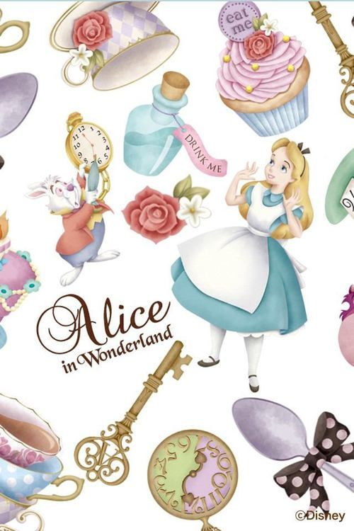 Alice in Wonderland😍😍💙💙😊😊