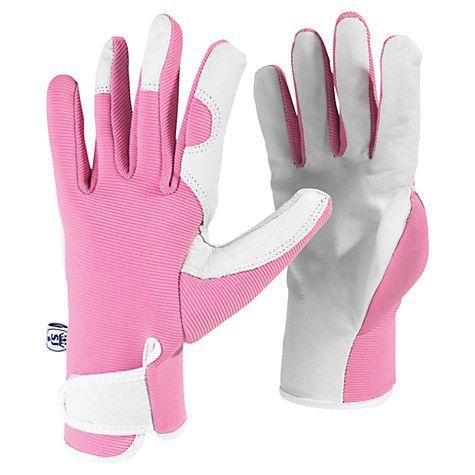 Buy Kew Gardens Garden Gloves, Pink Online at johnlewis.com