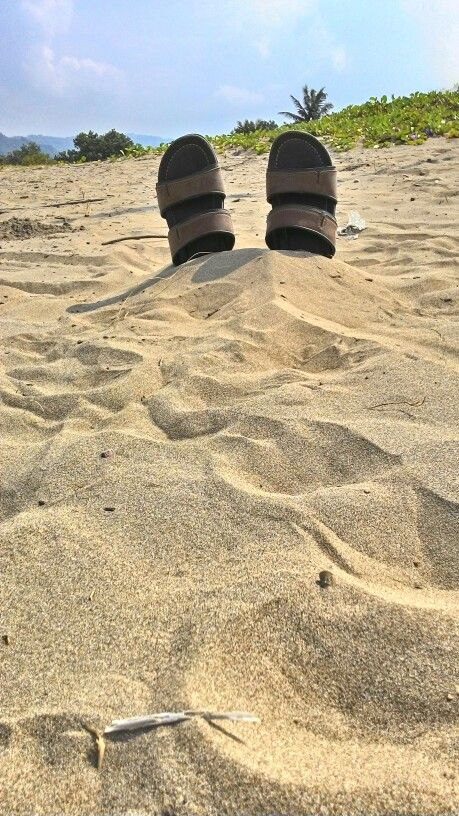 Salty sand