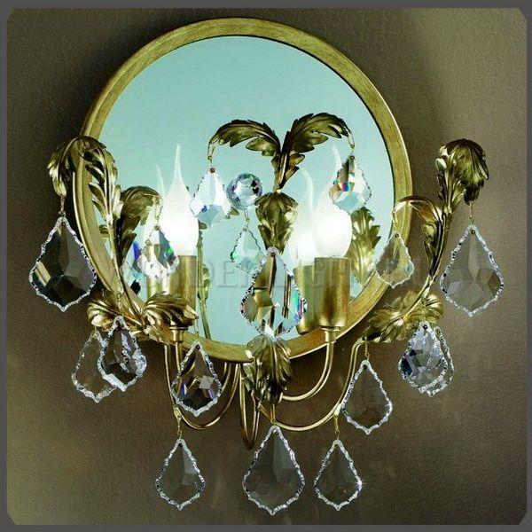 312 евро Бра MM Lampadari 6474/A2 - цена, отзывы в каталоге бра для ванной комнаты
