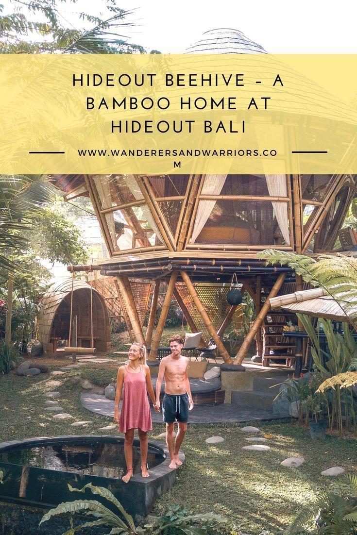 Hideout Beehive A Bamboo Home At Hideout Bali Bali Bali