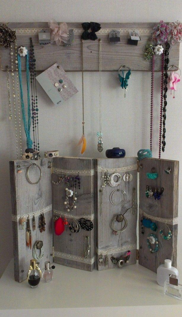 Leuk idee voor het opbergen van je sieraden