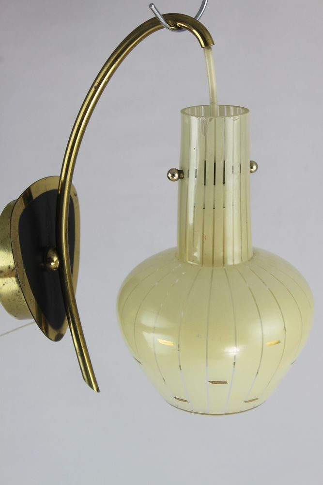 Wandlampe Jahre Mid Century 50er Lampe Lamp Vintage Wall dxBWrCoe