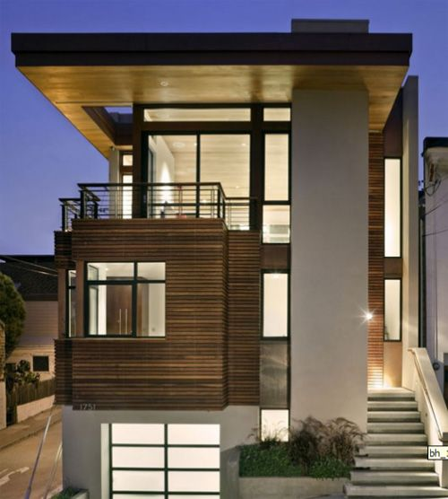 Simple Modern Apartment Design Exterior With Ideas