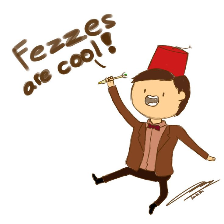 Fezzes Are Cool by amsuherdi1111.deviantart.com on @deviantART  Can't wait for The Day Of The Doctor :D #SaveTheDay #DoctorWho50th @bbcdoctorwho #DoctorWho